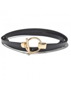 Beautiful leather waist belt