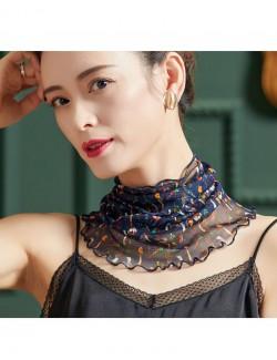Fashion style printed silk scarf