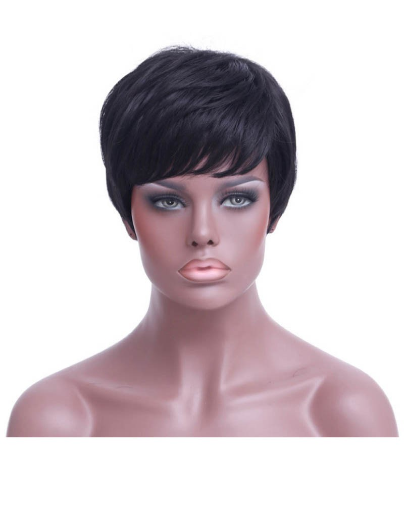 Short hair wig 2 colors choose