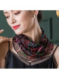 Stylish design printed silk scarf