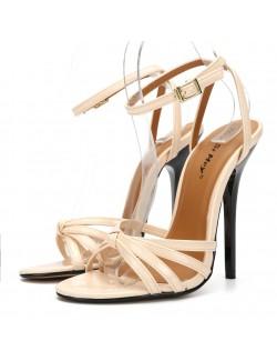 Ankle strap stylish heeled sandals