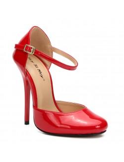 Confort round head high heels pumps