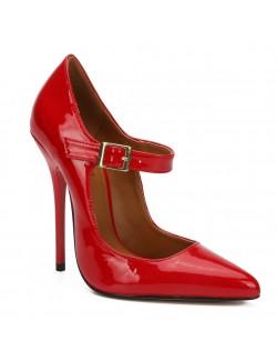 Retro pointy high heel pump stilettos