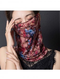 Fashion print pattern ear-hanging scarf