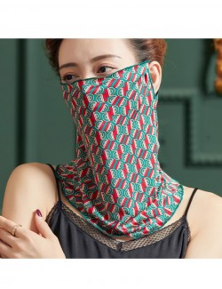Fashion style pattern, ear-hanging, tube magic scarf, face mask