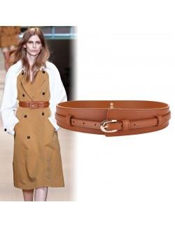 Wide waist shaping belt buckle