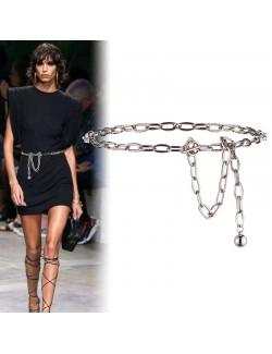 Ladies belly waist chain pendant