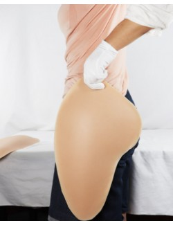 Lifelike silicone big hips & booty pads