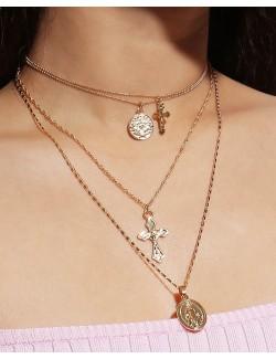 Ensemble de collier de bijoux 4 en 1