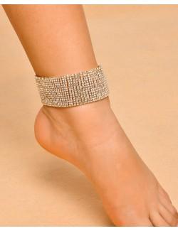 Bijoux en cristal de pied