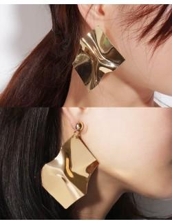 Zinc alloy metal earrings