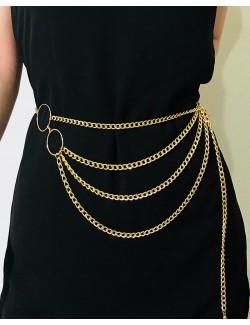 Collier ceinture en 2 couleurs