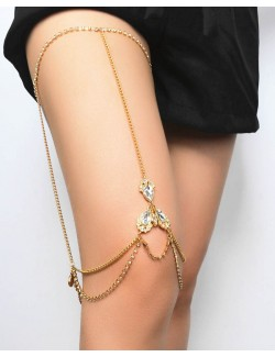 Leg thigh chain jewelry