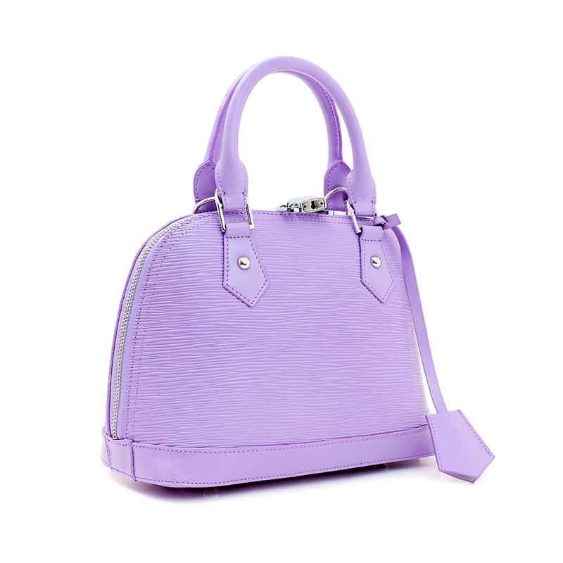 Lady trendy leather handbag inexpensive