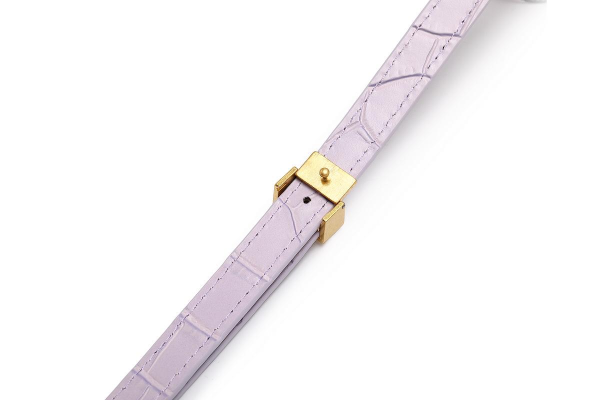 Trendy handbag cowhide chain strap