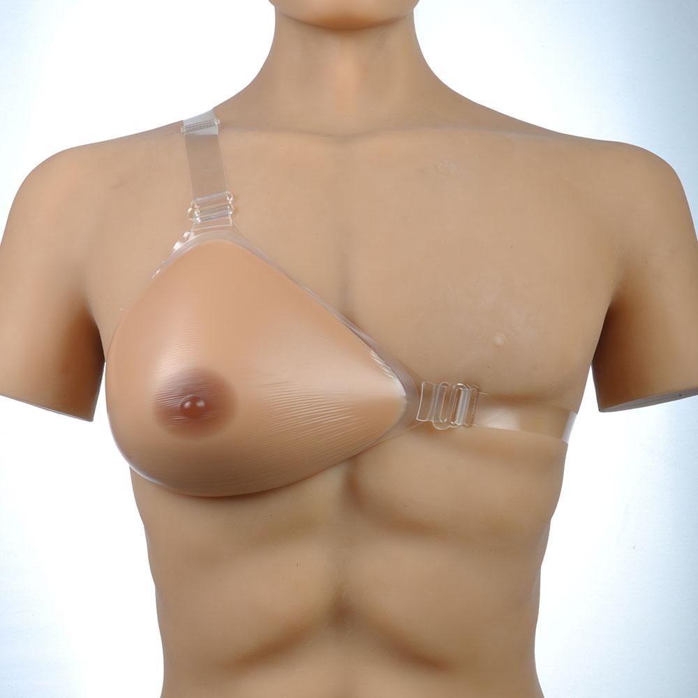 Post mastectomy breast prosthesis one piece asymmetrique