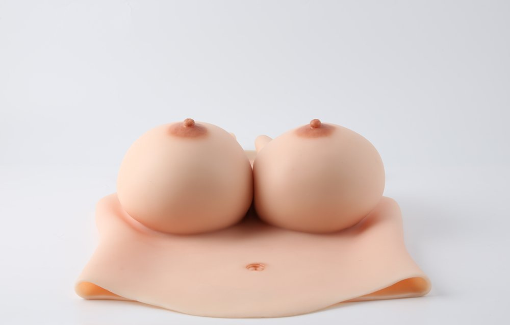 Oil-free best silicone breastplate boobs K