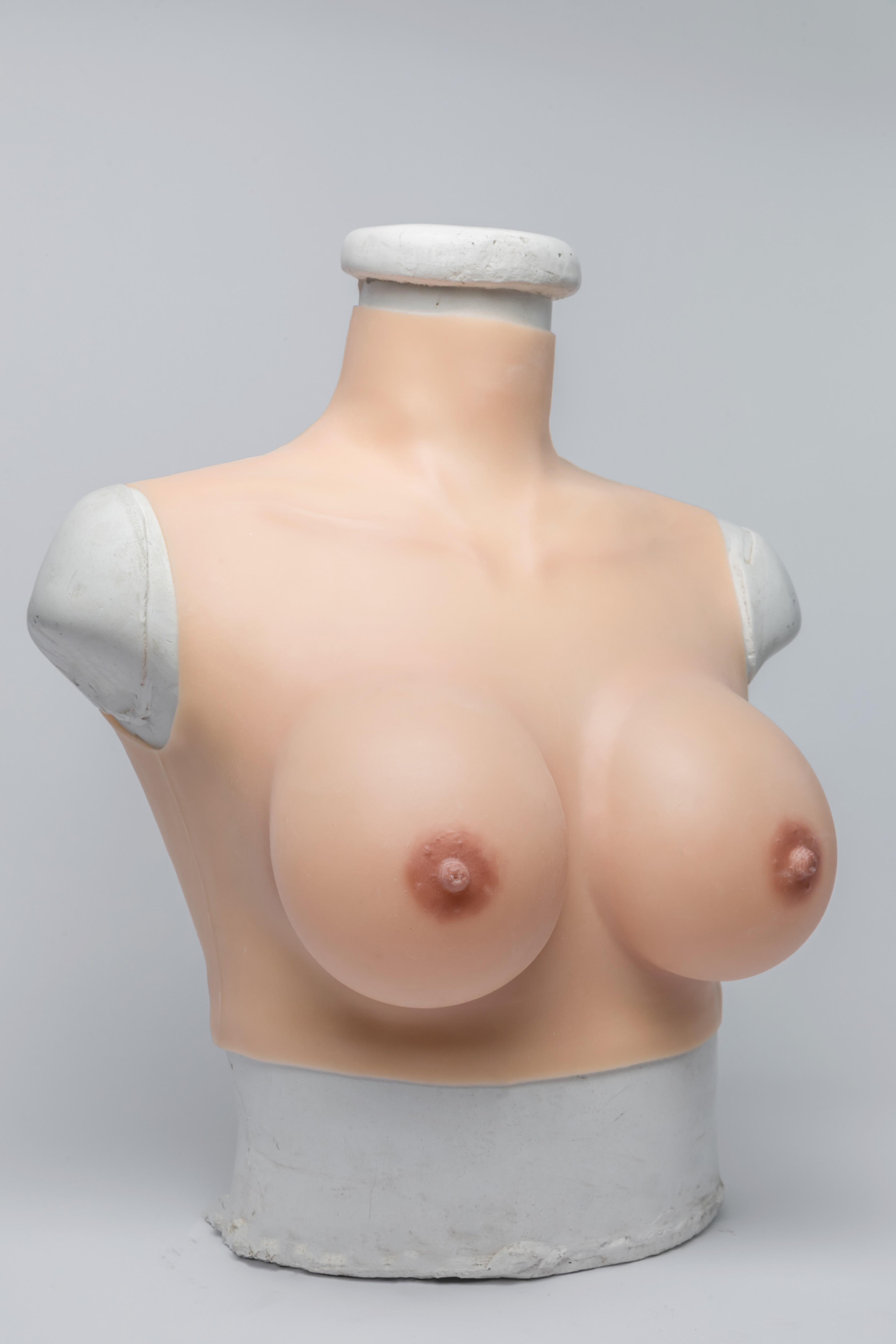 cheap silicone breast plate Cross-dresser