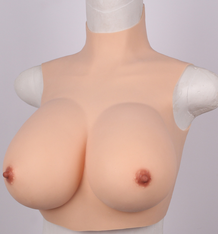 G/F cup breastplate silicone affordable