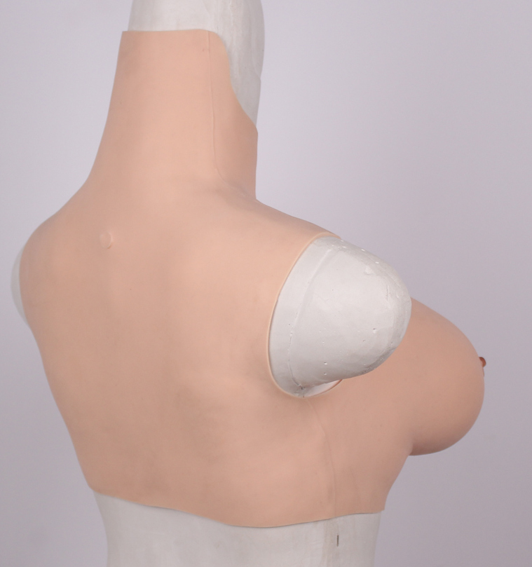 affordable E cup lightweight breastplate silicone