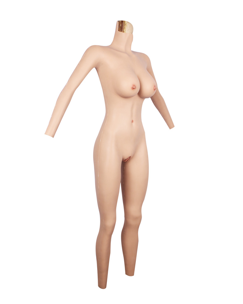 Male to female full body silicone suits