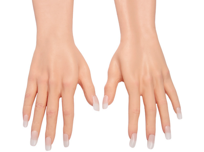 fake female hands for trans people
