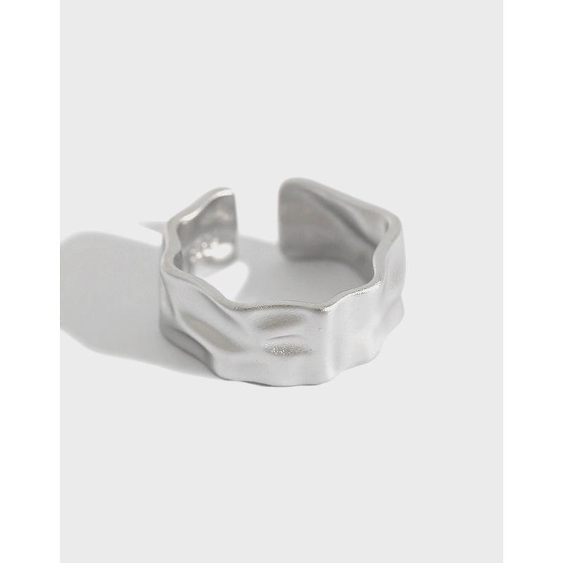 925 silver minimalist ring drag queen