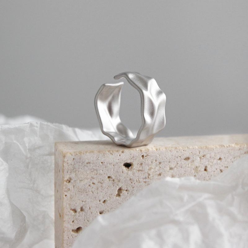 designer s 925 silver minimalist ring of designer