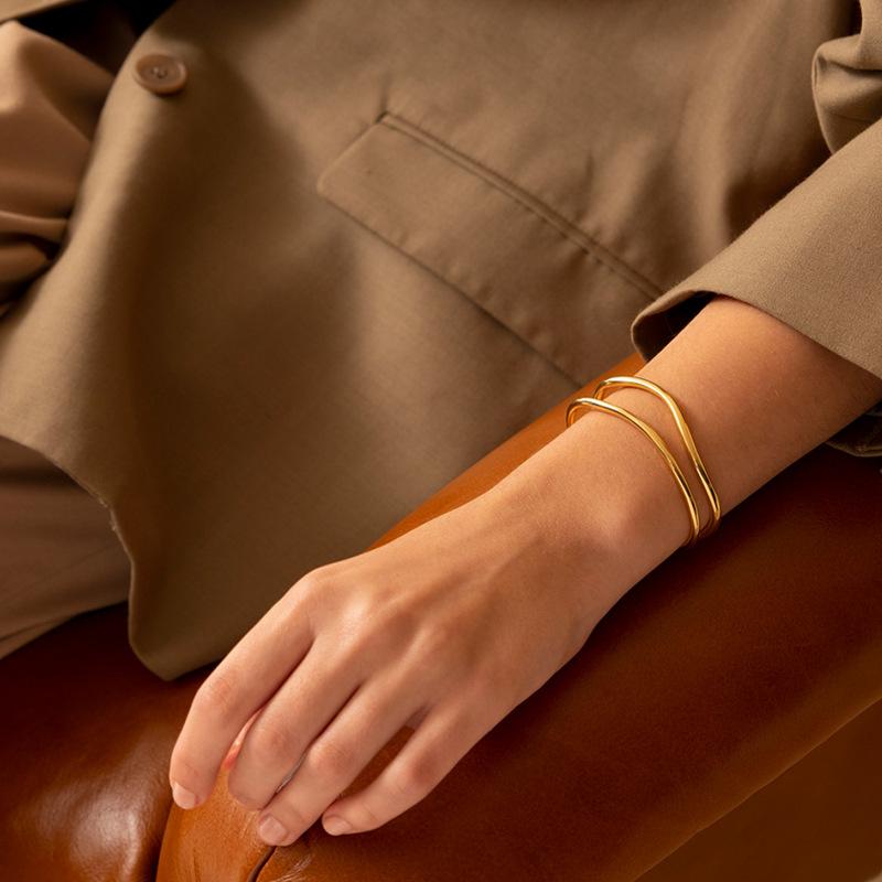 silver bracelet for trans