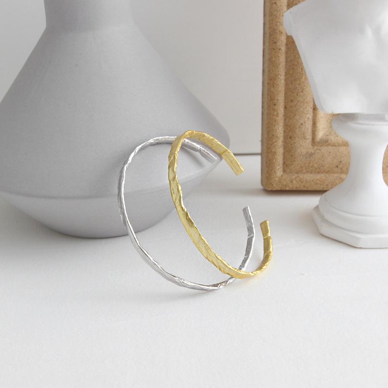 cheap Irregular silver bracelet