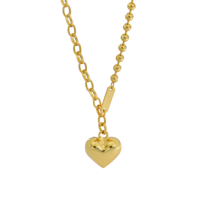 Sterling silver Jewelry necklace 18 k gold plated corss dressing