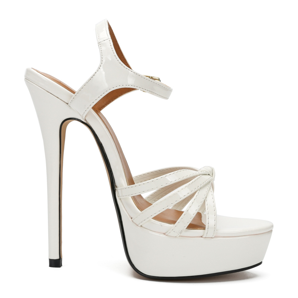 high quality platform heels sandals big size inexpensive
