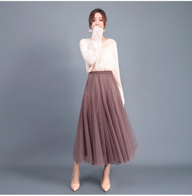 Tull long skirt trans woman