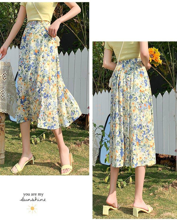 Cheap floral skirt drag queen