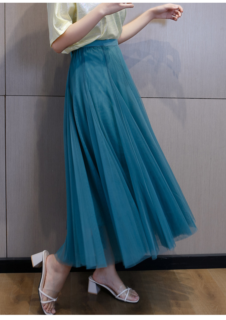 Cheap flowing tulle skirt