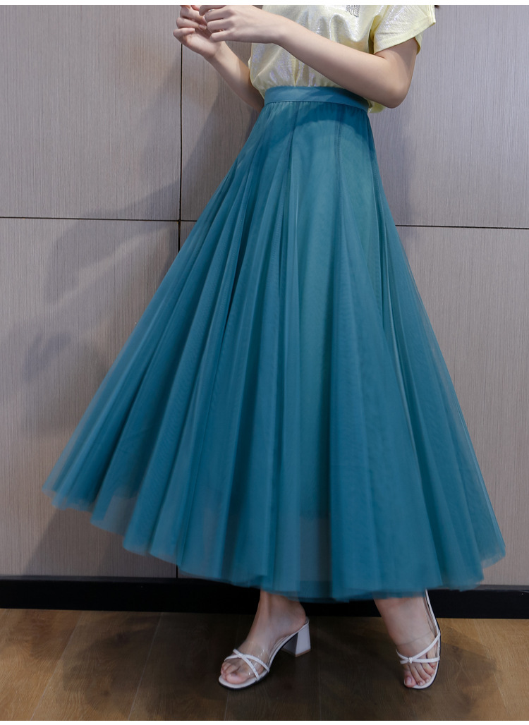 flowing tulle skirt 2021