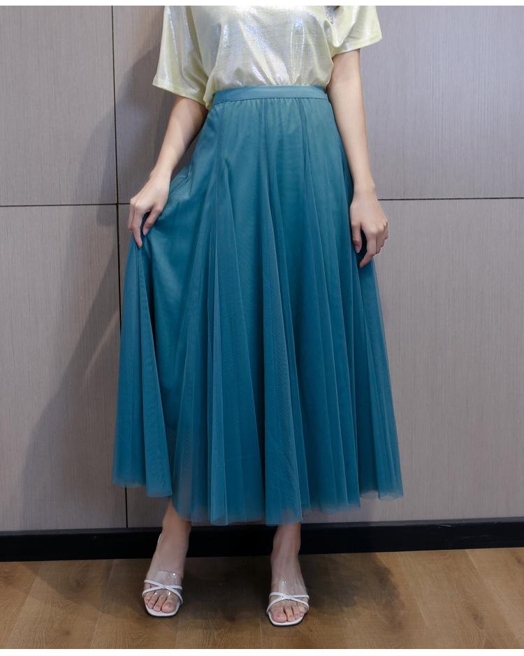 flowing tulle skirt T girl