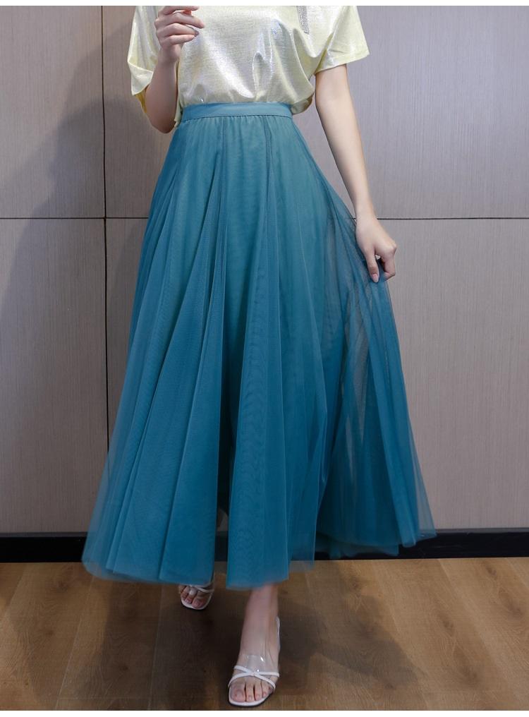 flowing tulle skirt for trans women