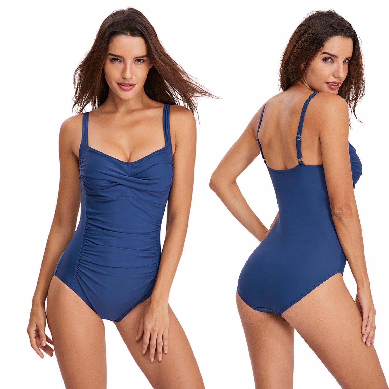 Classic ladies one piece swim inexpensive