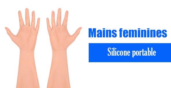 mains feminines